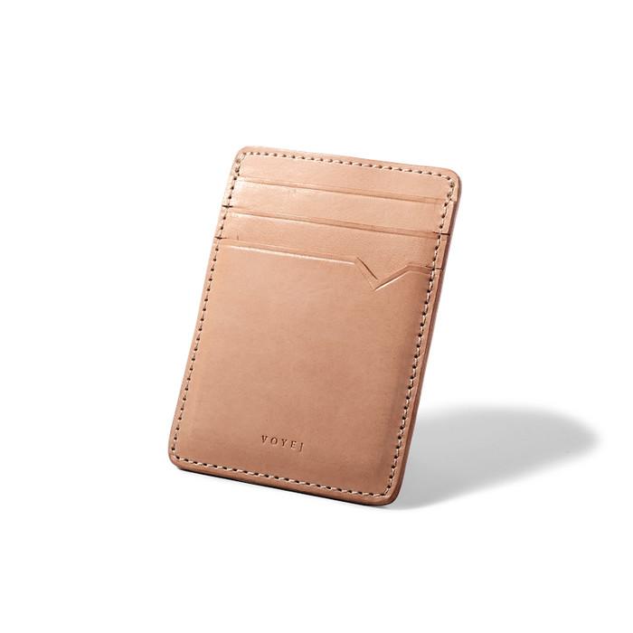 2X Unisex Ultra Slim Steel Money Clip Double Sided Credit Card Holder Wallet GA