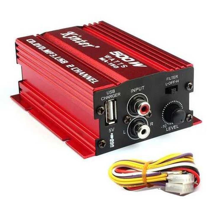 Foto Produk Kinter Amplifier Speaker 2 channel 500W - MA150 dari ERguitar