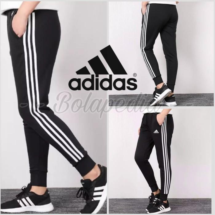 Foto Produk Celana Training JOGGER PANJANG ADIDAS / celana olahraga running sport dari Bolapedia