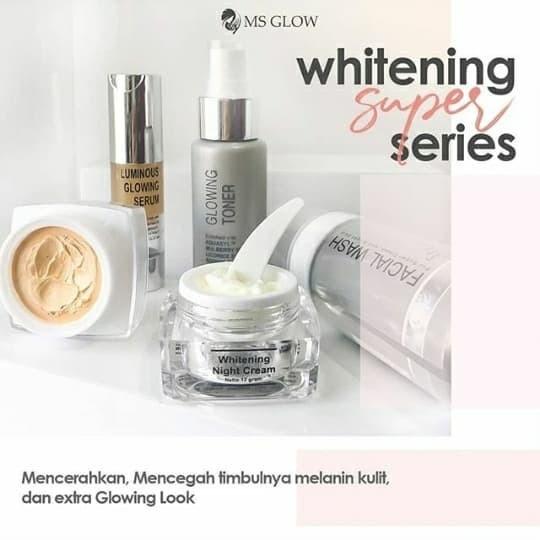 Jual Ms Glow Whitening Super By Cantik Skincare Kab Bogor Tatya Shop Tokopedia