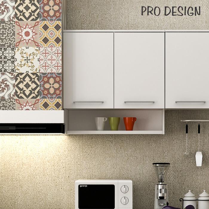 Pro Design Oklava Kabinet Dinding Dapur