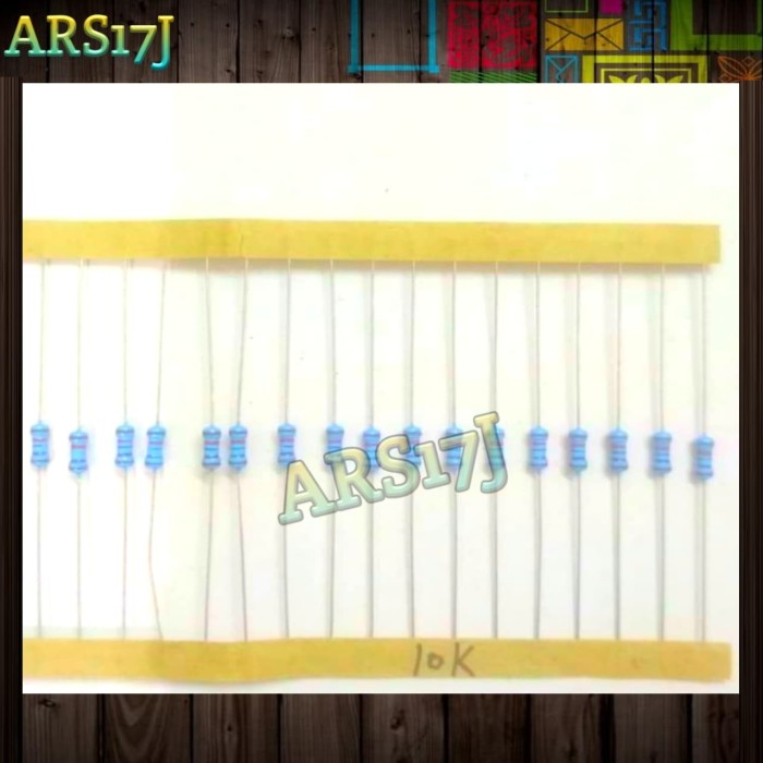 Foto Produk Resistor 10k 1/4w dari ARS17J