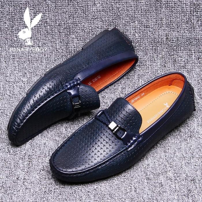 Sepatu Pria Casual Slip on Trendy Antislip Original Branded