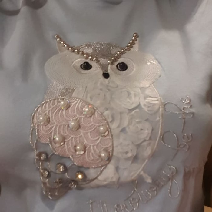 Jual Kaos Burung Hantu Kota Balikpapan Salsa Fashion3 Tokopedia