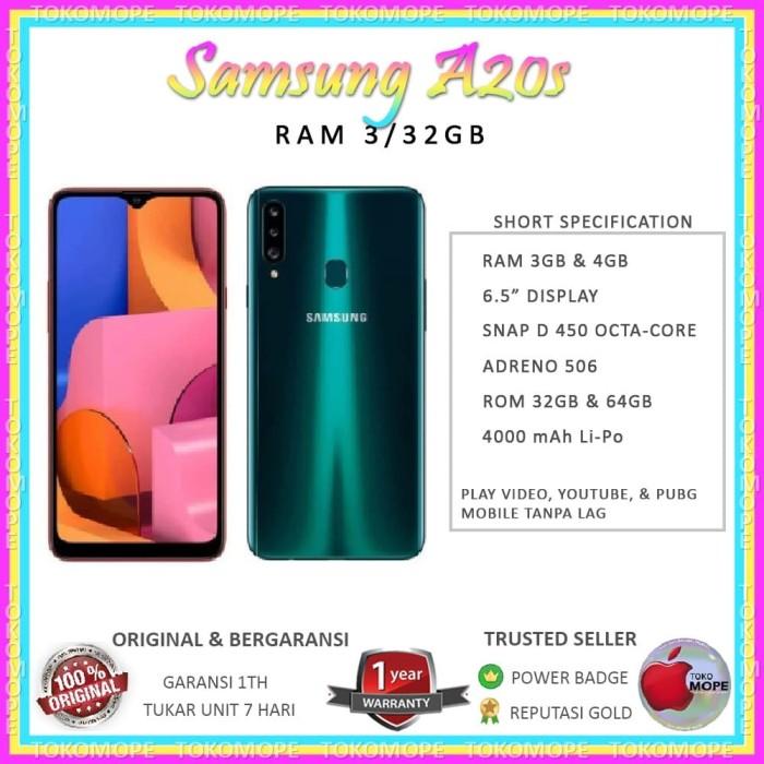 harga Samsung galaxy a20s 3/32gb 32 gb samsung a20s garansi sein Tokopedia.com