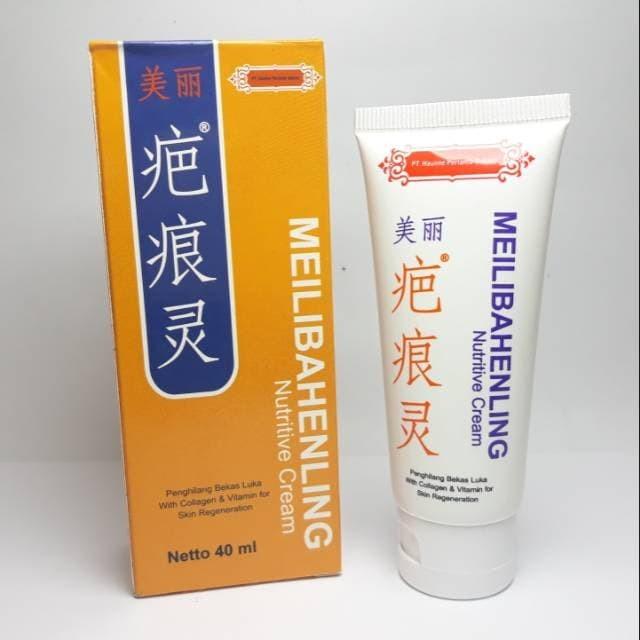 Foto Produk Meilihebanling Cream Lotion Krim Losion Herbal Penghilang Bekas Luka dari HERMES TOSERBA
