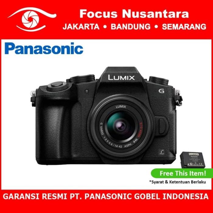 harga Panasonic lumix dmc-g85k kit 14-42mm+pwp lumix g 25mm (black) Tokopedia.com