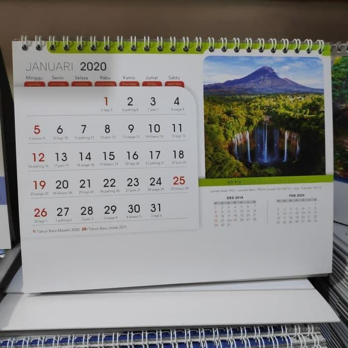 jual kalender meja spiral 2019 jakarta barat nellma tokopedia. Black Bedroom Furniture Sets. Home Design Ideas