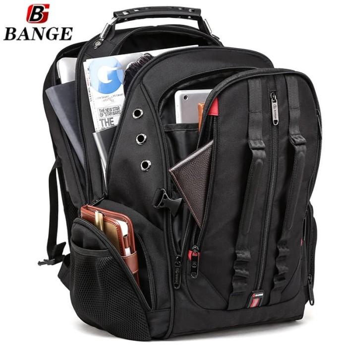 Foto Produk Bange Tas Ransel Backpack Pria 17 Inch BG1901 Hitam dari EliteGen