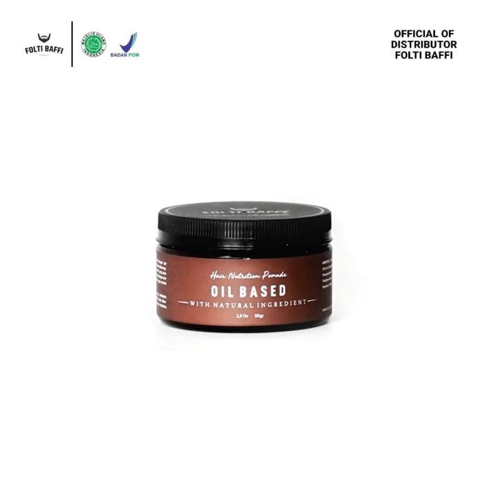 Foto Produk folti Baffi Hair Nutrition Pomade Oil Based ORIGINAL dari andress lipshop