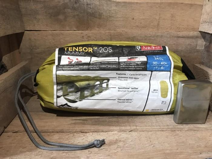 Nemo Tensor 20S Mummy Lightweight Sleeping Mat