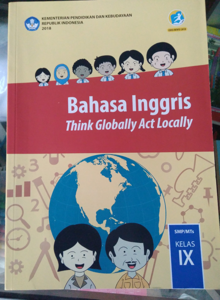 Jual Buku Bahasa Inggris Kelas 9 Kurikulum 2013 Revisi 2018 Depdikbud Jakarta Barat Nardi Items Tokopedia
