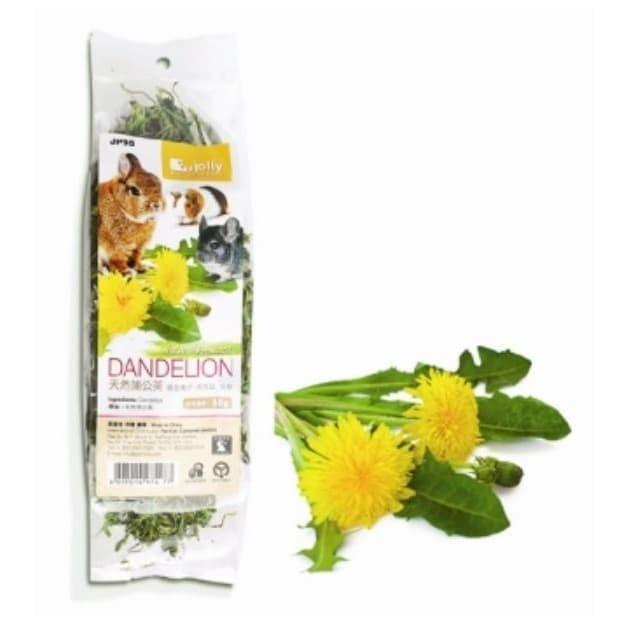 Foto Produk JP95 Jolly Dandelion 50g Snack Kelinci Bunga Chinchilla Marmut Rabbit dari Hime petshop