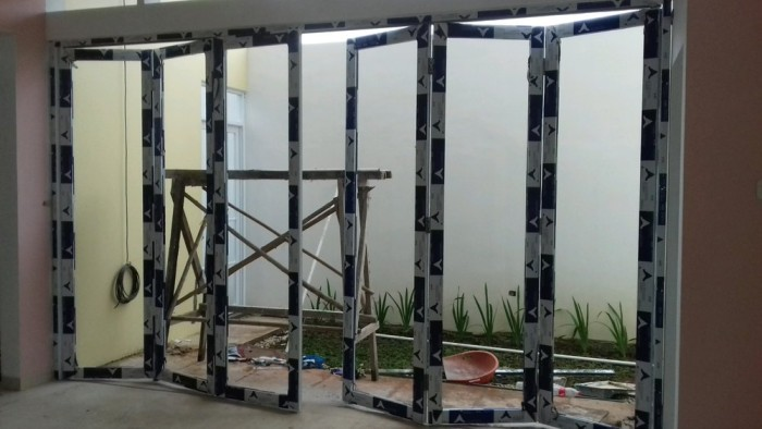 Jual pintu lipat aluminium alexindo tools - Jakarta Pusat ...