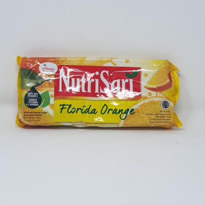 harga Nutrisari florida orange 10*14 gr Tokopedia.com