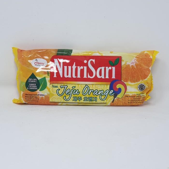 harga Nutrisari jeju orange 10*14 gr Tokopedia.com