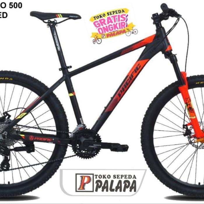 Jual MTB 27.5 PACIFIC SPAZIO 500 Sepeda Gunung Terbaik 8