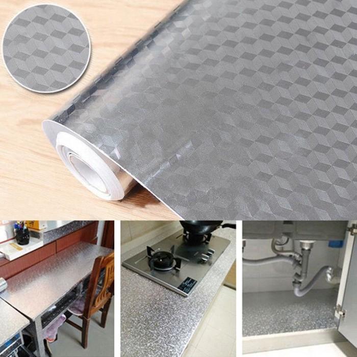 Foto Produk Stiker Anti Air / Jamur Bahan Aluminium untuk Kabinet Dapur dari Jujuwlstore