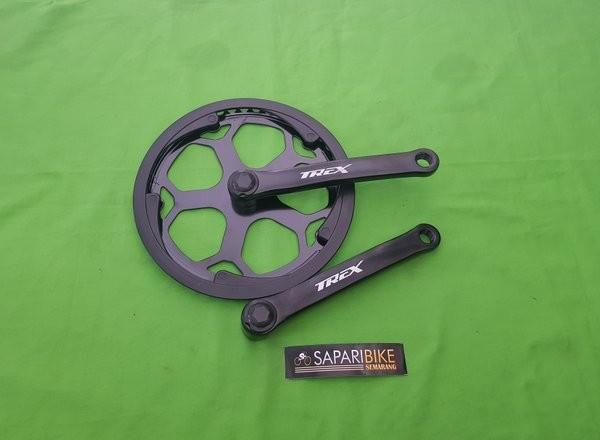 Jual Crank Single Speed Sepeda Lipat TREX 48T Jakarta
