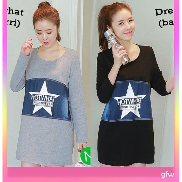 45657 dress what xl murah atasan minidress wanita laris