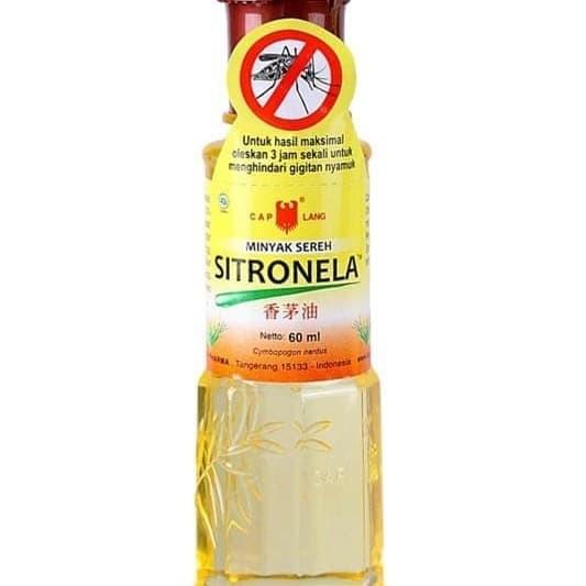 Foto Produk MINYAK SEREH SITRONELA CAP LANG 60ML dari butik lidya