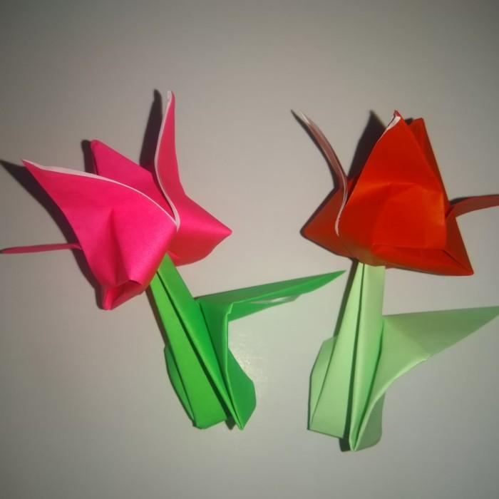 Origami Bunga Lily | Liliany Candra | 700x700