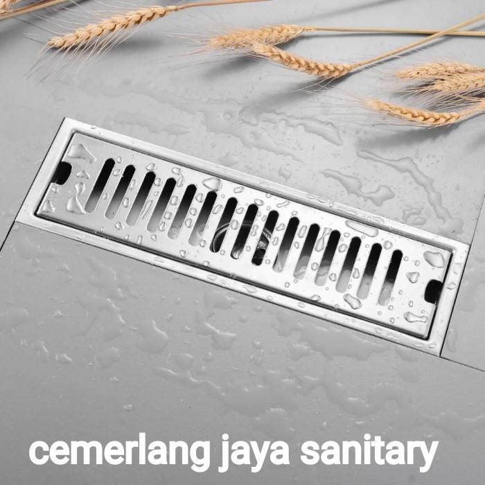 Jual Floor Drain Stainless Panjang 40