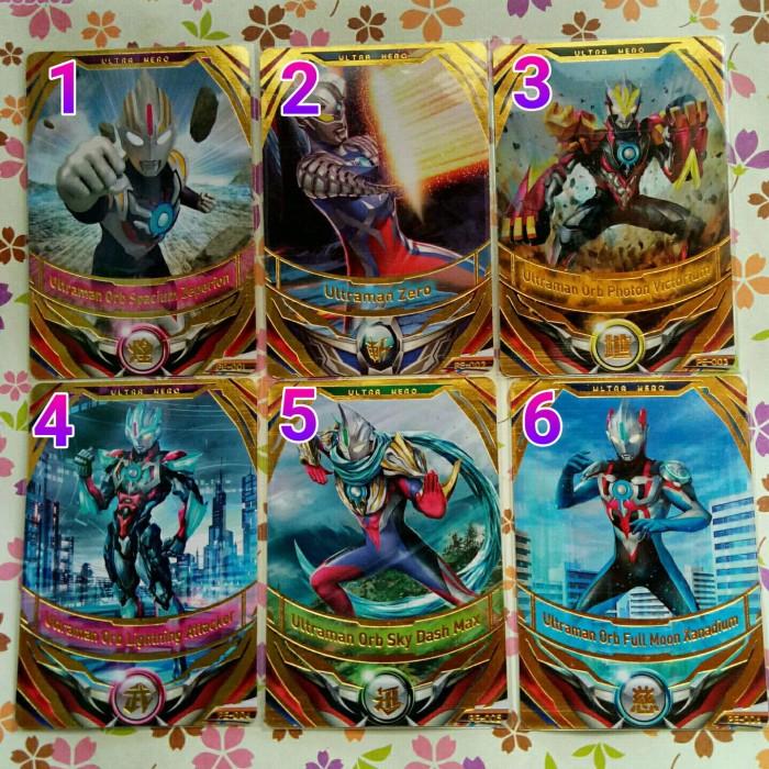 Jual ultraman fusion fight promo gold satuan - Kota
