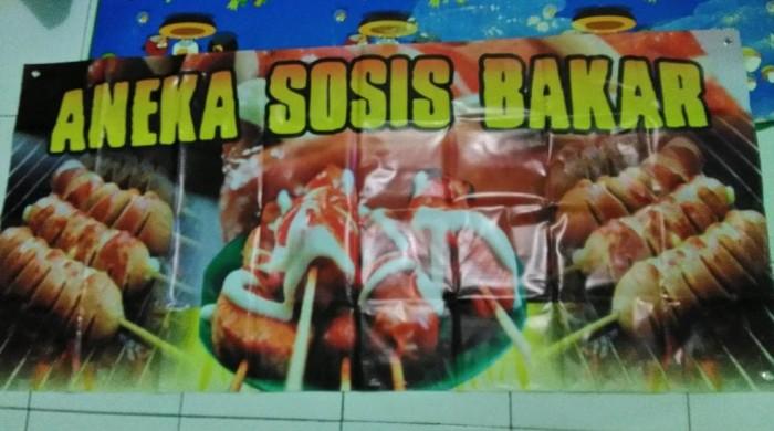 Download Baner Sosis Bakar Gratis - contoh desain spanduk