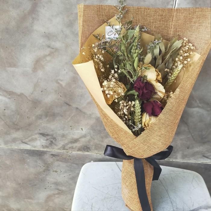 Jual Naina Dried Bouquet Bunga Kering Dried Flower Jakarta Barat Agia Flora Tokopedia
