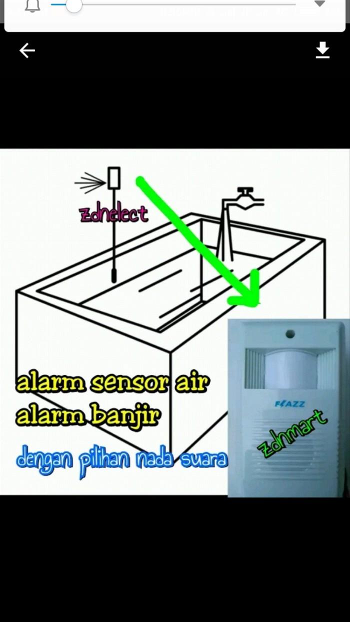 Jual Sensor Banjir Alarm Ketinggian Air Bisa Pilih Nada Kota Semarang Septian Umar Hadi