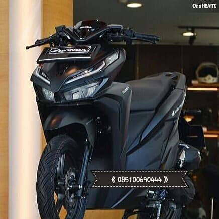 Jual New Vario 125 Cbs Iss Hitam Kota Bandar Lampung Tunas Motor Honda Tokopedia