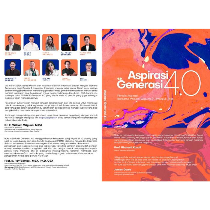 Foto Produk Buku Aspirasi 4.0 Tommy Hartono Edition dari Kerosky