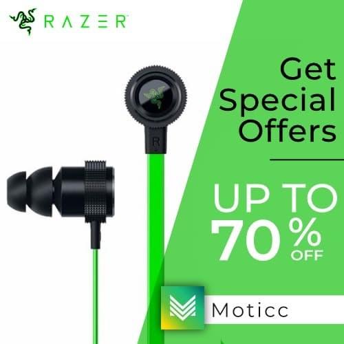 Foto Produk Razer Hammerhead Pro V2 Headset Earphone Gaming Hammerhead dari Moticc