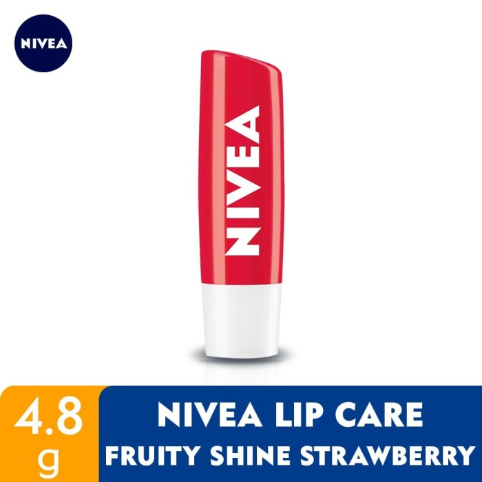 Foto Produk NIVEA Lip Care Fruity Shine Beauty Stick Strawberry 4.8gr dari NIVEA Official