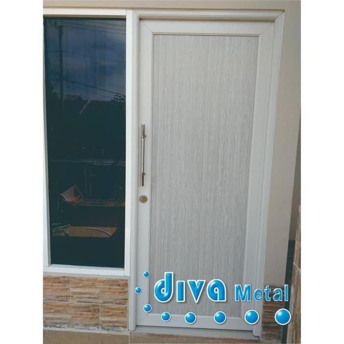 Jual Pintu Rumah Aluminium Alum