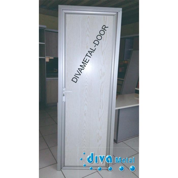 Jual Pintu Kamar Mandi Aluminium Pintu Kamar Mandi Pintu Aluminium Kab Bekasi Diva Metal Interior Tokopedia