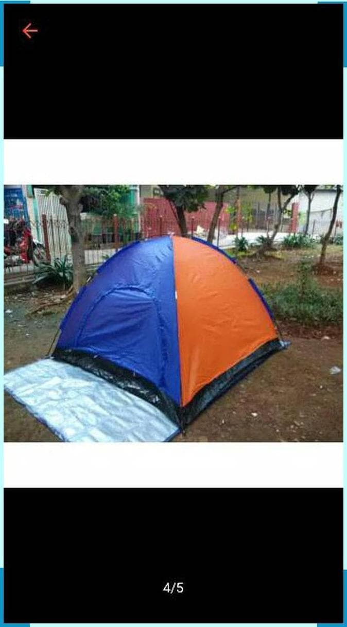 Jual Tenda Dome Double Layer 4 Orang Tenda Camping Hiking Kemping Berburu Jakarta Barat Samad Wahab