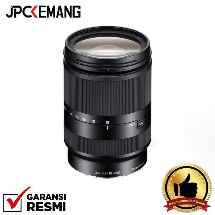 Foto Produk Sony E 18-200mm f/3.5-6.3 OSS LE GARANSI RESMI dari JPCKemang