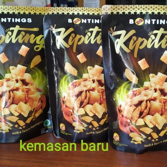 Jual Makanan Cemilan Oleh Oleh Bontings Snack Kepiting 100gr