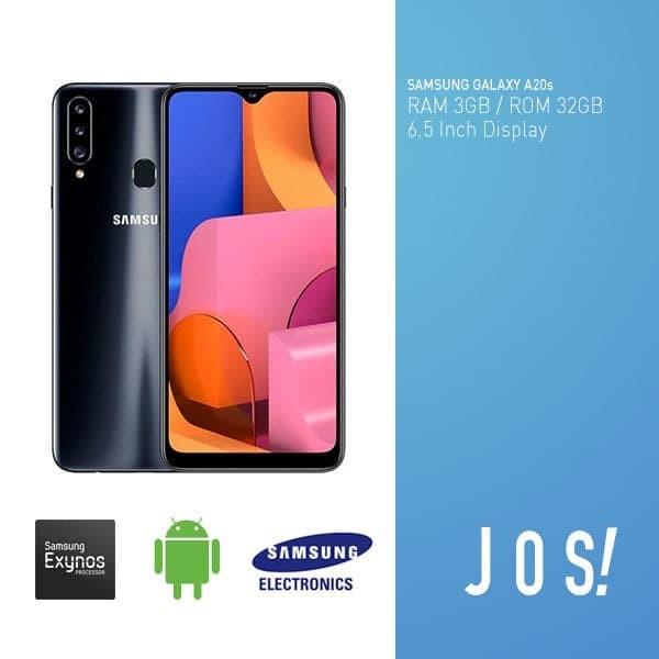 harga Samsung galaxy a20s 3/32gb ram 3gb internal 32gb resmi samsung - hitam Tokopedia.com