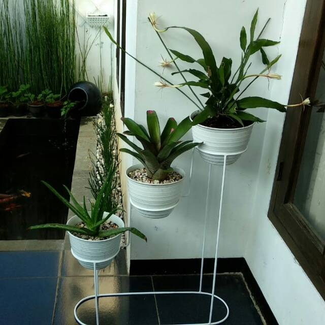Jual Standing planter susun pot D 18 - Jakarta Pusat