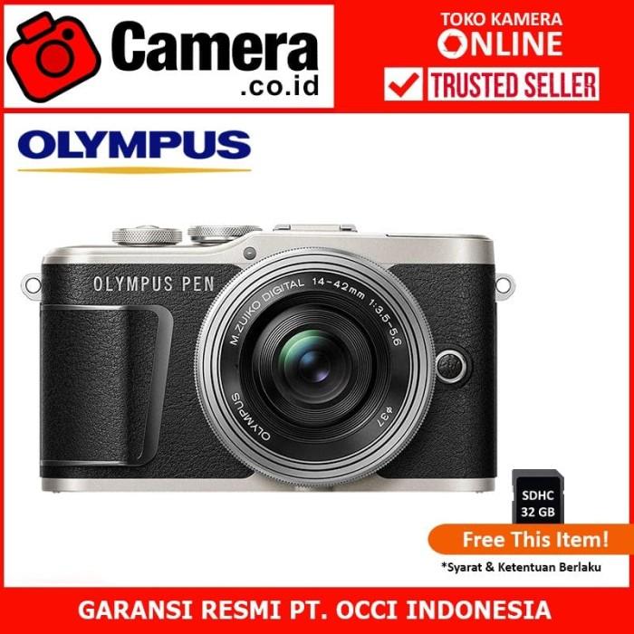 harga Olympus pen e-pl9 kit 14-42mm ez (black) -kamera mirrorless Tokopedia.com