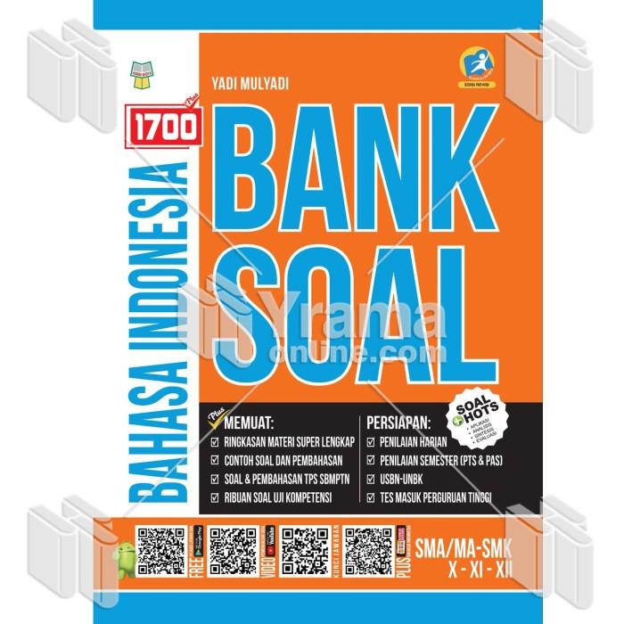 Foto Produk BUKU 1700 PLUS BANK SOAL BAHASA INDONESIA SMA/MA-SMK KELAS X, XI, DAN dari Yrama Widya Online