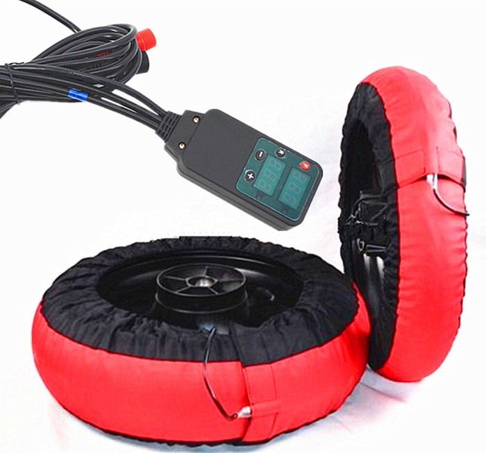 Digital Analog Motorcycle Tire Tyre Warmer one fixed temperature 10/' SCOOTER