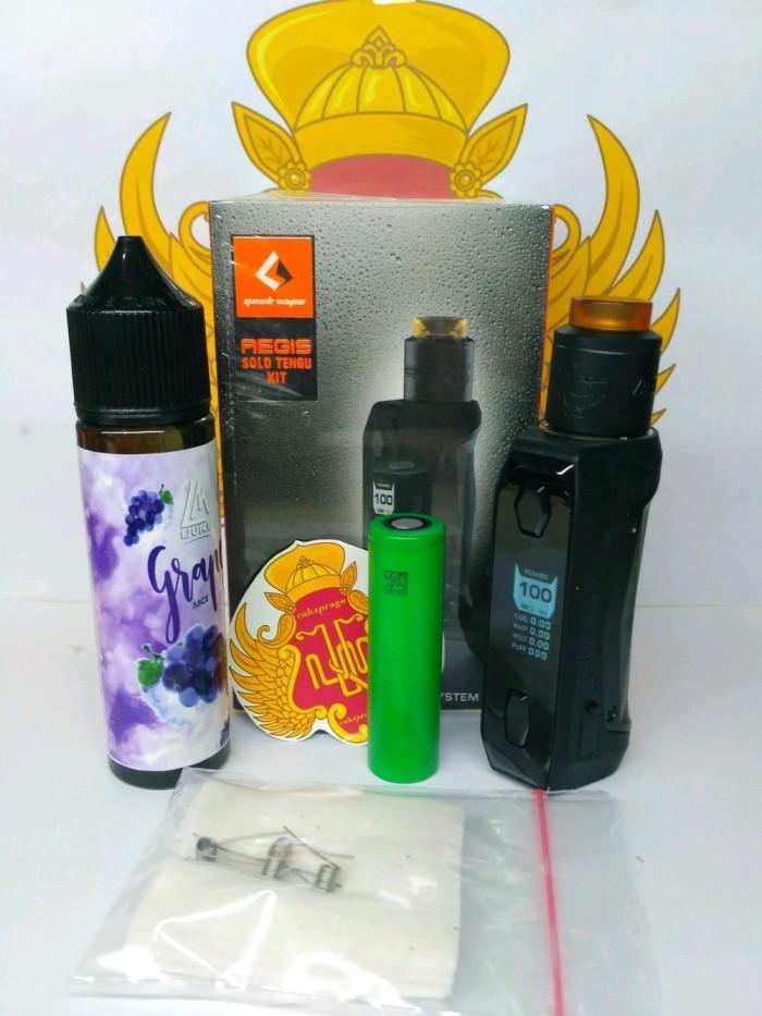 Foto Produk Paket Ngebul AUTHENTIC AEGIS SOLO MINI KIT TENGU RDA OTIGINAL 100WA dari Erik Galery