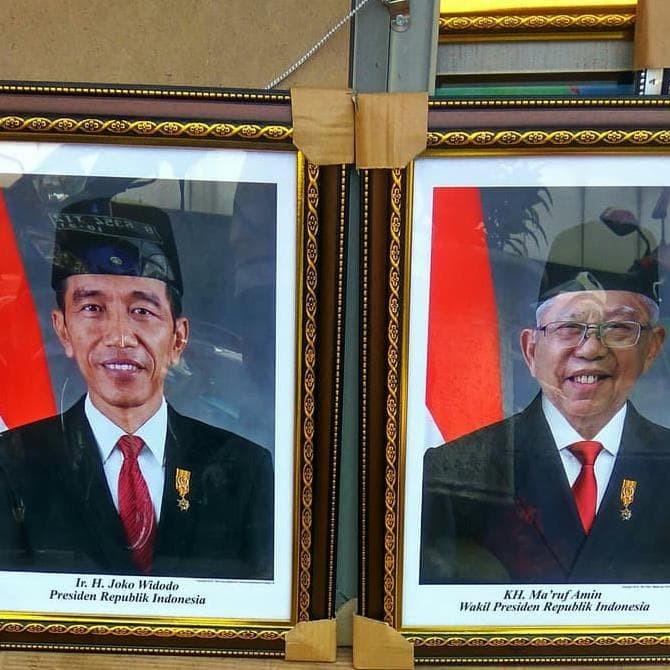 Jual Foto Gambar Presiden Dan Wakil Presiden Periode 2019 2024 Jakarta Timur Toko Mada123 Tokopedia
