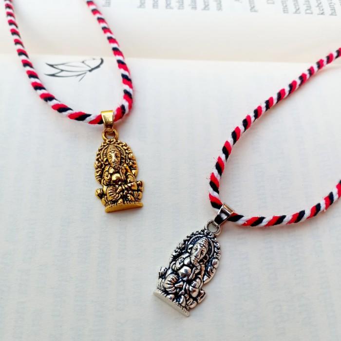 Foto Produk Kalung Tridatu Liontin Ganesha dari CRAFTDEWATA