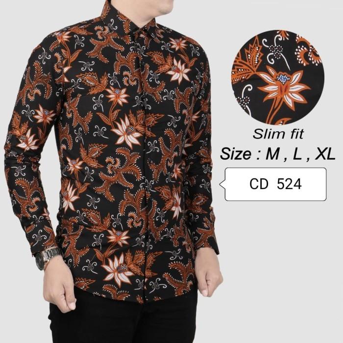 Jual Kemeja Batik Pria /Baju Lengan Panjang /Baju Batik ...