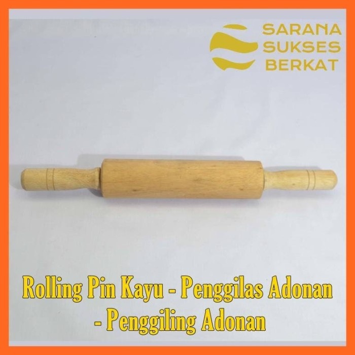 Foto Produk Rolling Pin Kayu - Penggilas Adonan - Penggiling Adonan dari Sarana Sukses Berkat